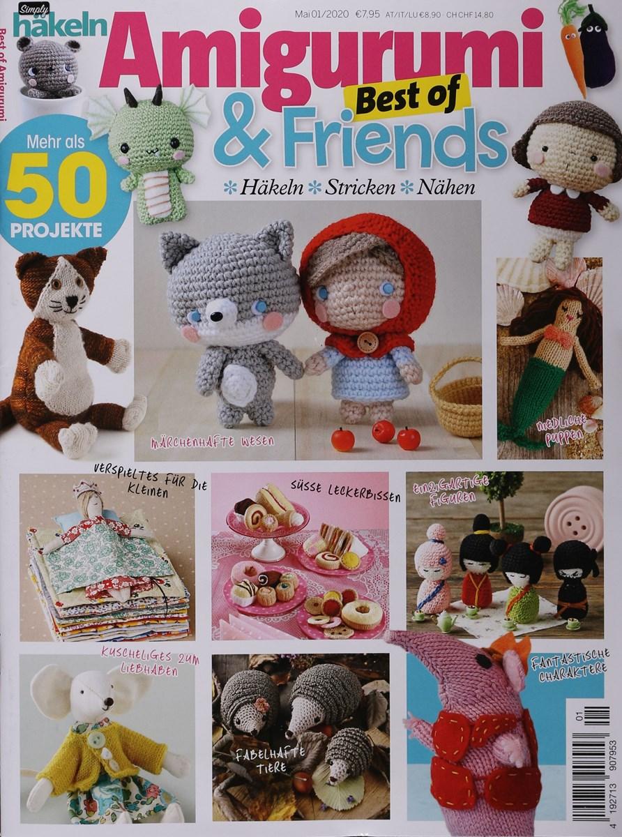 Zeitschrift Häkeltiere - Auszug aus Anna Special (A513)   1200x892