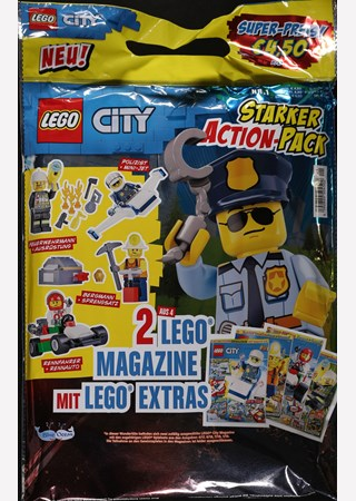 LEGO CITY STARKER ACTION PACK