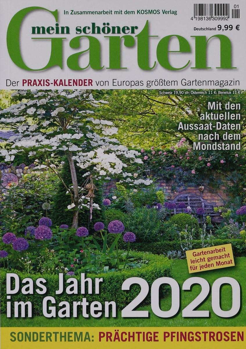Kalender Mein Schoner Garten 1 2020 Zeitungen Und Zeitschriften Online
