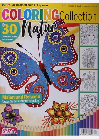 COLORING COLLECTION NATUR