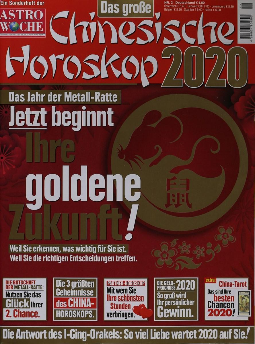 Jahreshoroskop 2020 fische frau single