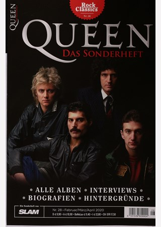 ROCK CLASSICS QUEEN DAS SONDERHEFT