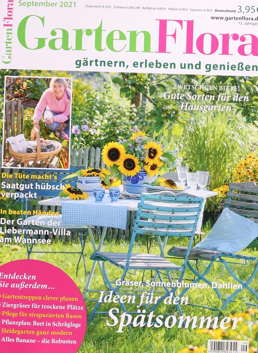 GARTEN FLORA 9/2021 - Zeitungen und Zeitschriften online